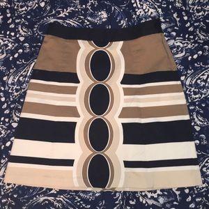 Tan Business Skirt
